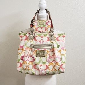 COACH - Multicolored Poppy Dream C Glam Tote Set